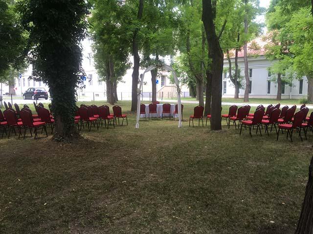Külső polgári szertartás - Erzsébetligeti Étterem és Rendezvényház